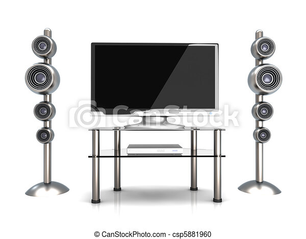 Home Entertainment System		 - csp5881960