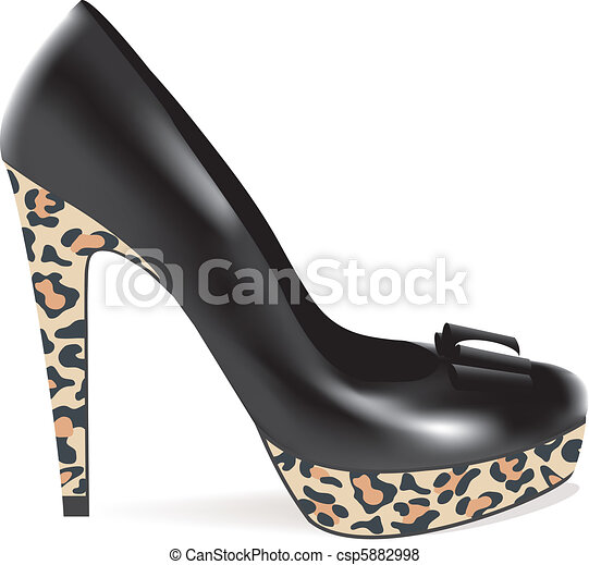 high heel shoe - csp5882998