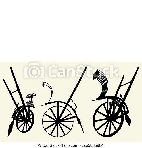 Old Reverse Plow - csp5885904
