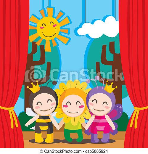 Cute Theater - csp5885924
