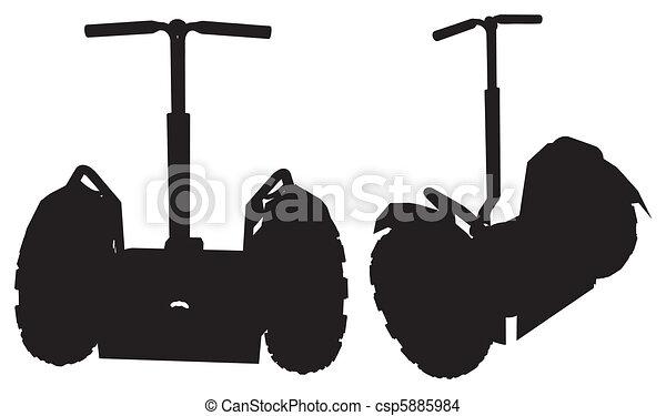 Two Wheeler Personal Transporter - csp5885984