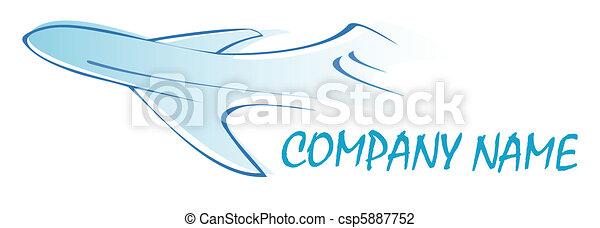 Airliner - logo - csp5887752