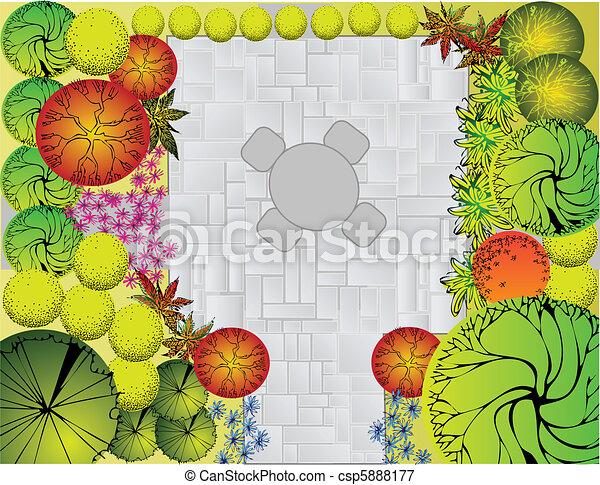 Landscape  Plan - csp5888177