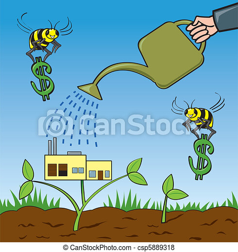 Grow Your Business - csp5889318