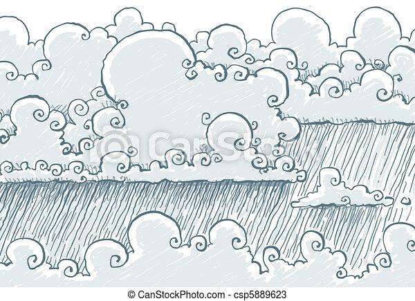 lluvioso, nubes - csp5889623