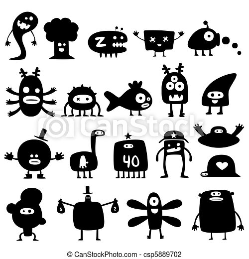 Monsters - csp5889702