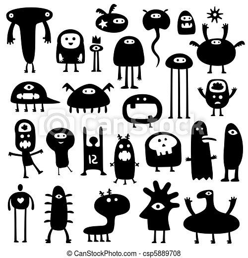 Monsters - csp5889708