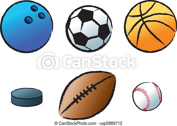 Various Sports - csp5889712