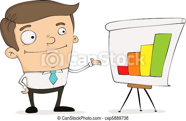Cartoon manager - csp5889738