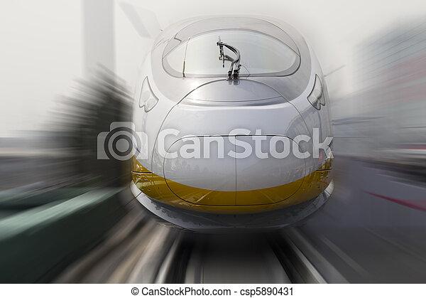 bullet trains - csp5890431