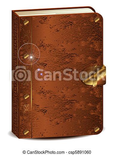 old book - csp5891060