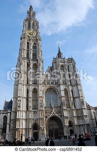 Antwerp, Belgium - csp5891452