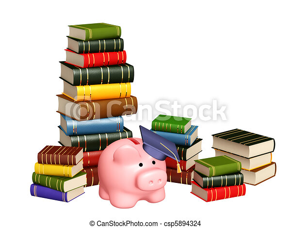Money for education - csp5894324