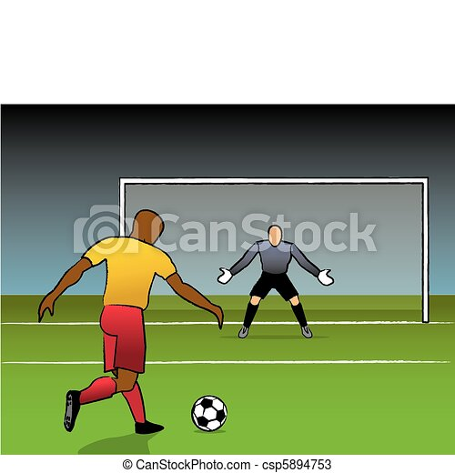 Clear Shot On Goal - csp5894753