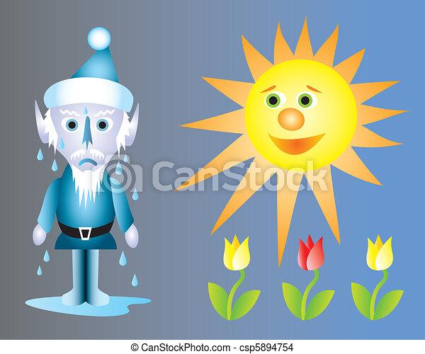 Jack Frost Melting - csp5894754