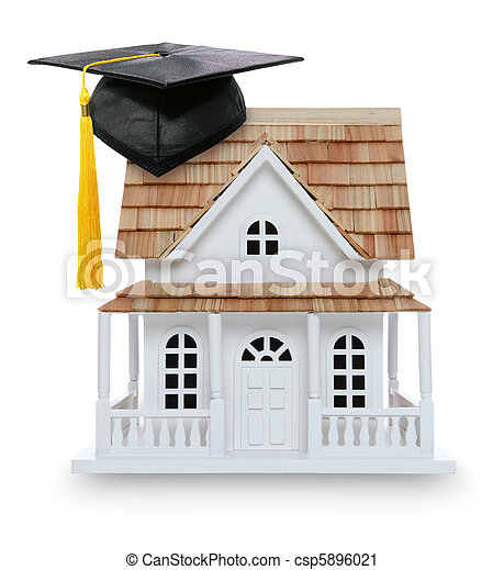 College Graduation Home Ownership - csp5896021