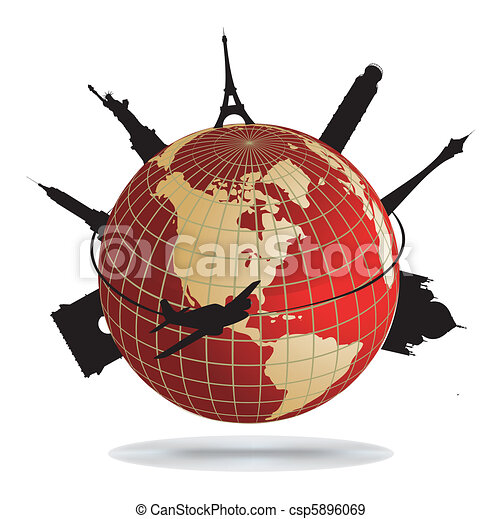 World landmarks - csp5896069