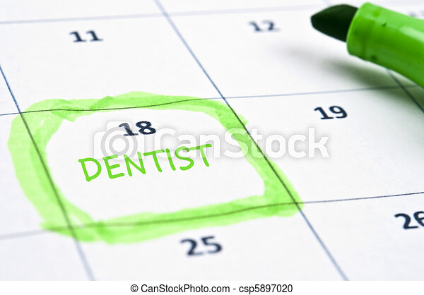 Dentist mark - csp5897020