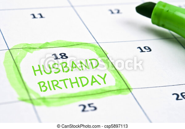 Husband Birthday Graphics Husband Birthday Mark