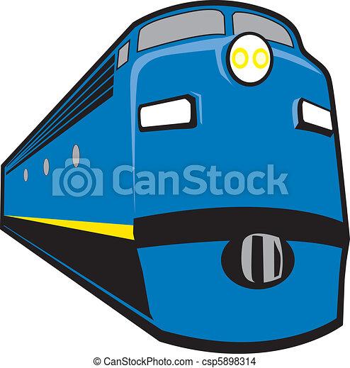 Locomotive - csp5898314