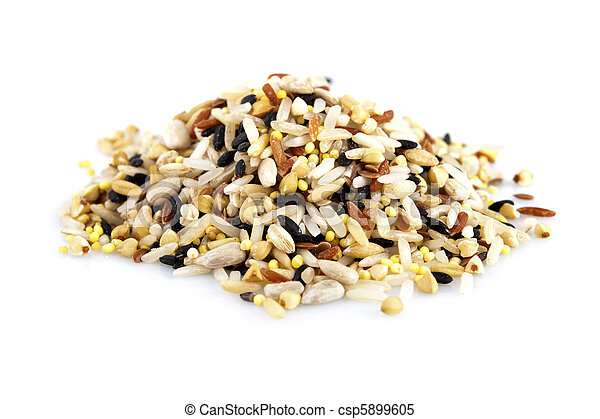 Raw grains - csp5899605