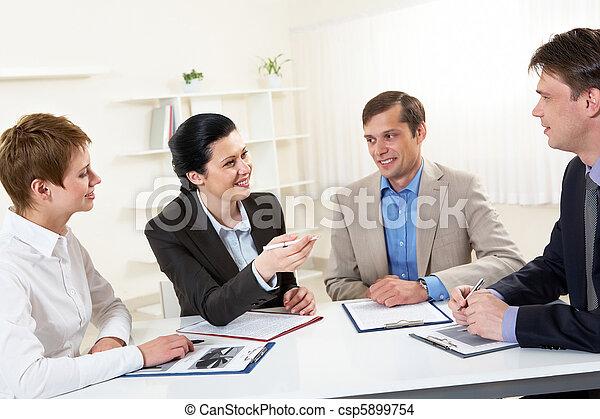 Negotiations - csp5899754