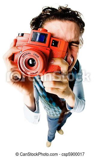 Funny photographer - csp5900017