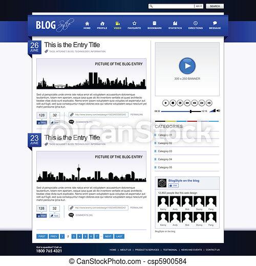 Web Design Website Element Template - csp5900584
