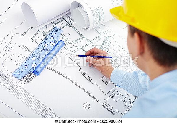 projeto, construção - csp5900624