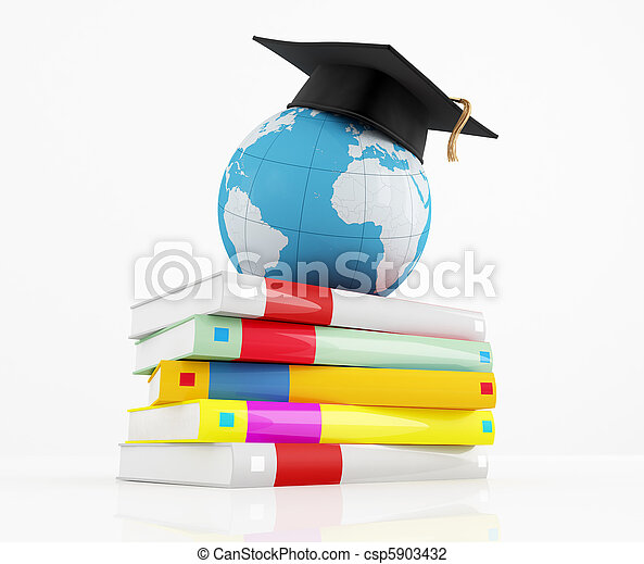 international graduation concept - csp5903432