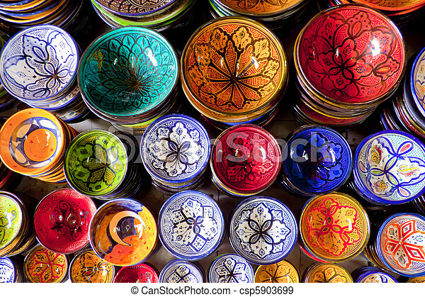 Morocco crafts - csp5903699
