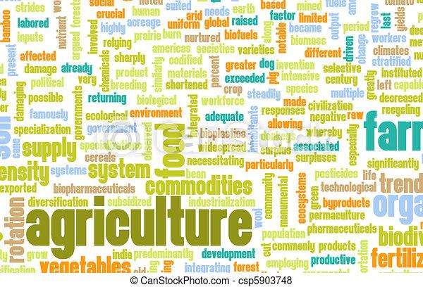 농업, 산업, 에서, 그만큼, 경작, 부문, 예술 csp5903748의 스톡 일러스트 - EPS 클립아트 ...