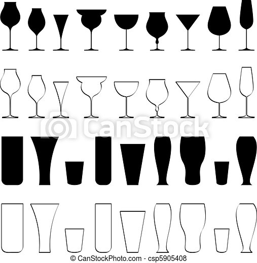 Beverage Glasse - csp5905408