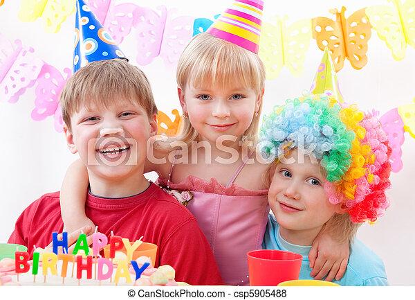 birthday party  - csp5905488