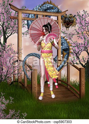 Orient dream - csp5907303