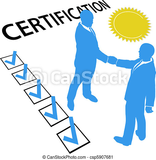 Get certified and Earn Official Certification document - csp5907681