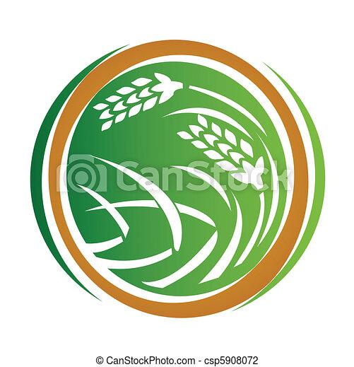 Wheat icon - csp5908072