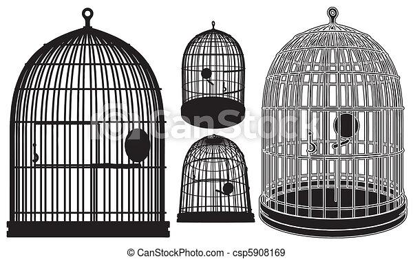 Bird Cage - csp5908169