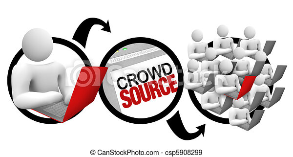 Crowdsourcing - Diagram of Crowd Source Project - csp5908299