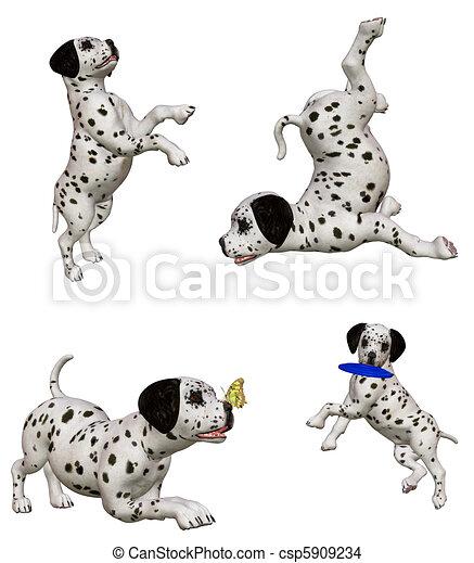 Dalmatian Clip Art and Stock Illustrations. 899 Dalmatian EPS ...