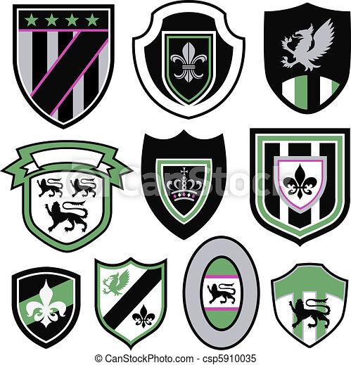 sport badge emblem sign symbol  - csp5910035
