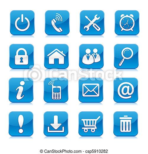 internet icon - csp5910282