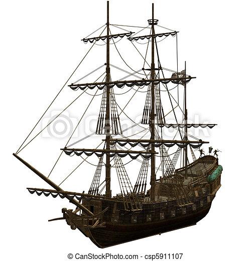 Pirate Ship - csp5911107