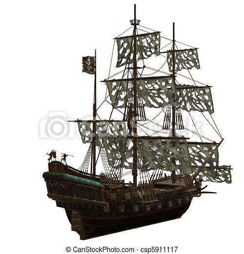 Pirate ship. Shapes | Ships | Pinterest | Pirate ships, Ships and ...
