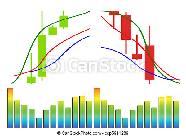 Commodity, Forex trading vector - csp5911289