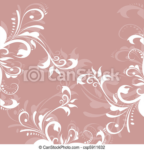 Greeting pastel card - csp5911632