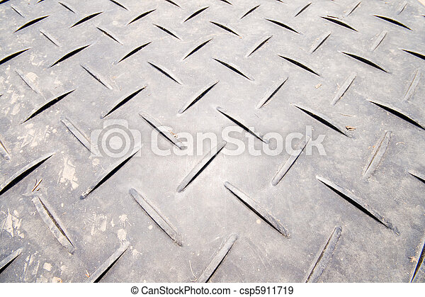 Full Frame Crisscrossed Non Skid Metal Surface - csp5911719