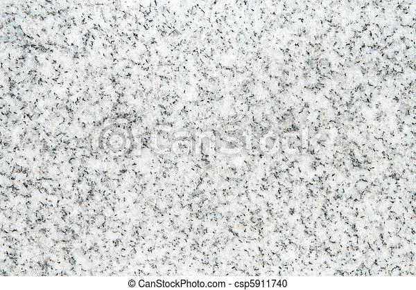 blanco, negro, granito, superficie, Lleno, marco - csp5911740