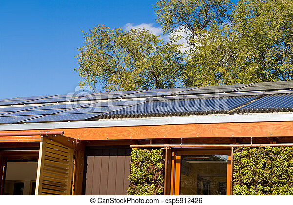 Image de maison tube chauffage toit eau chaud solaire maison csp59 - Panneau solaire chauffage maison ...