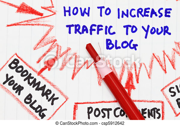How to increase traffic to your website - csp5912642